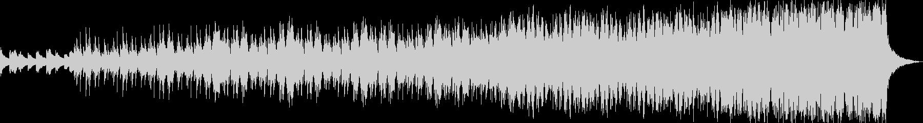 リラックスヒーリング系アンビエントの未再生の波形