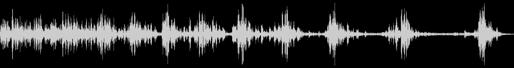 カータイヤフロップイン、ストップの未再生の波形