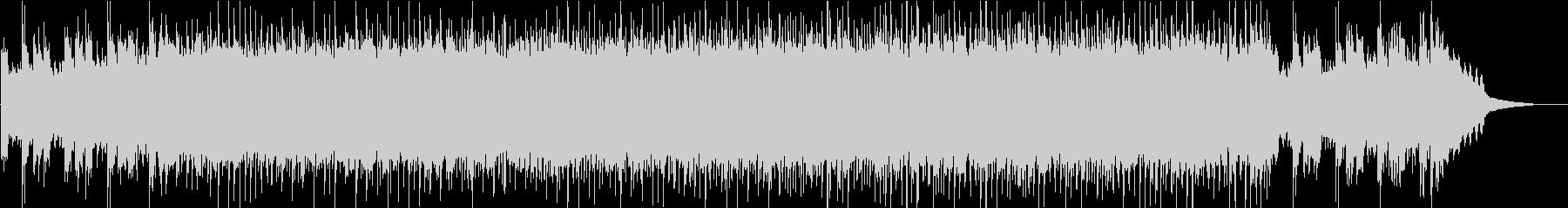 リフで始まるEL&P風なクールロックの未再生の波形