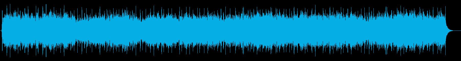 ゆっくりで安心感のあるバラードポップスの再生済みの波形