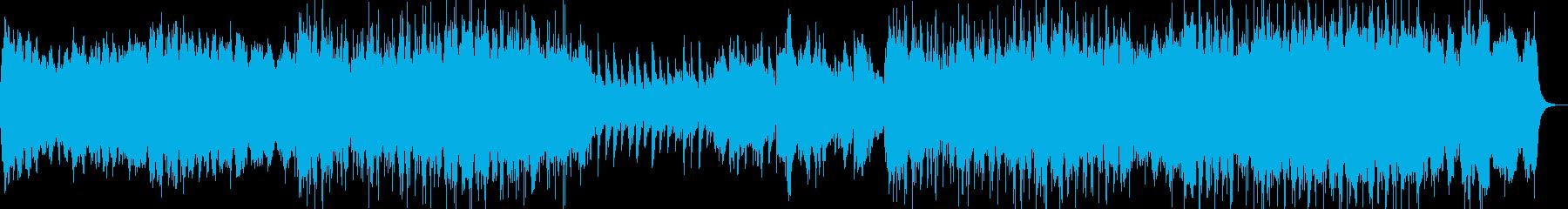映像のための音楽ー祈りの再生済みの波形