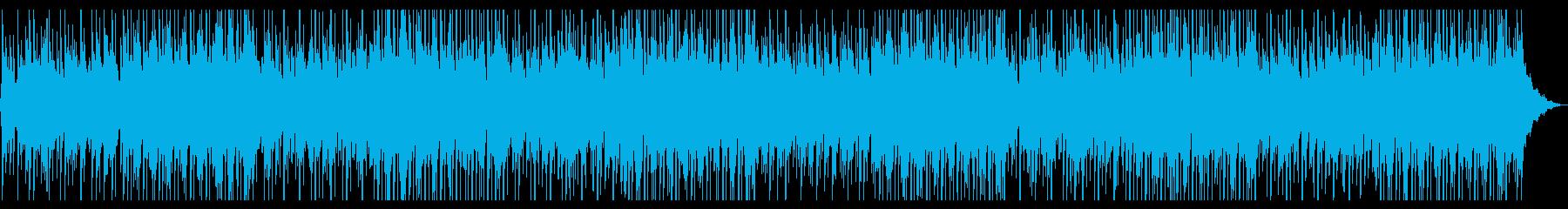 レトロ感のあるソウルポップの再生済みの波形