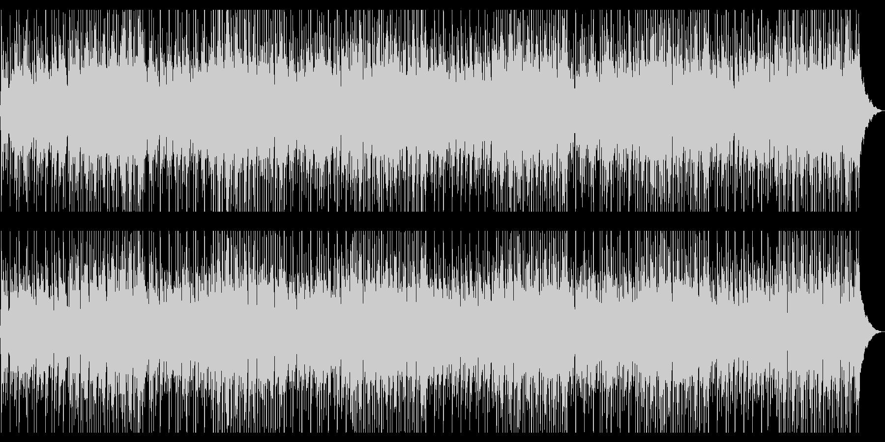 レトロ感のあるソウルポップの未再生の波形