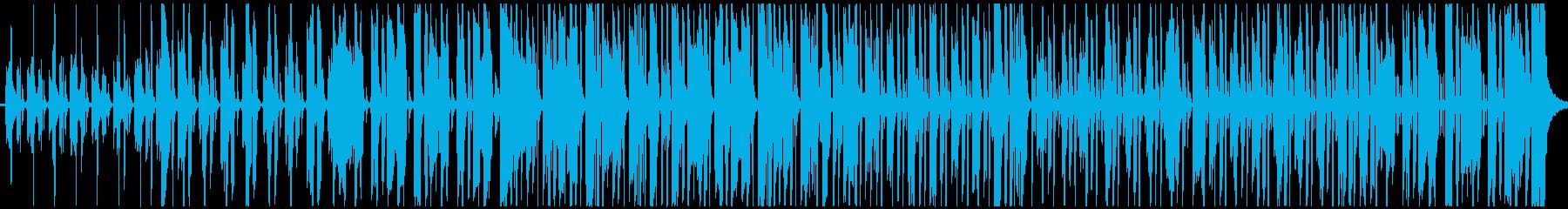 幸せなレゲエは、シンプルなギターリ...の再生済みの波形