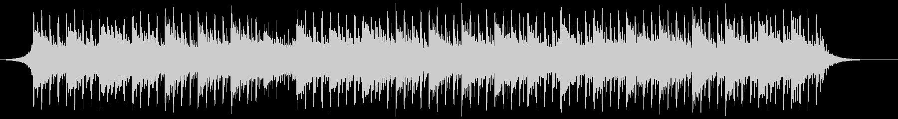 最小テクノロジー(60秒)の未再生の波形