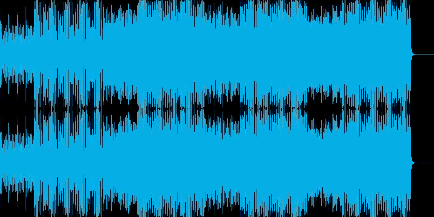 疾走感 エレクトリック スッキリ 始まりの再生済みの波形