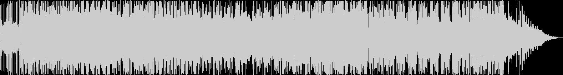 アコースティックギターのスタイリッシュ曲の未再生の波形