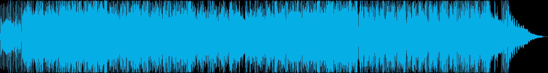アコースティックギターのスタイリッシュ曲の再生済みの波形