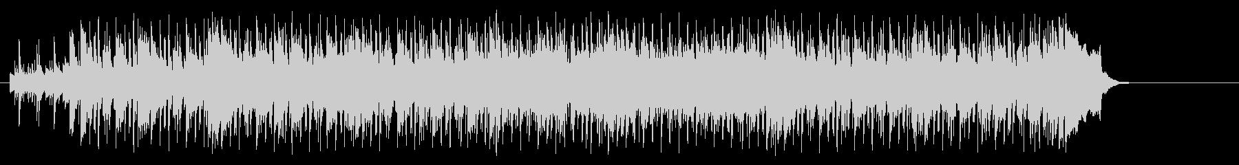 好奇心旺盛なポップ(イントロ~A~B…)の未再生の波形