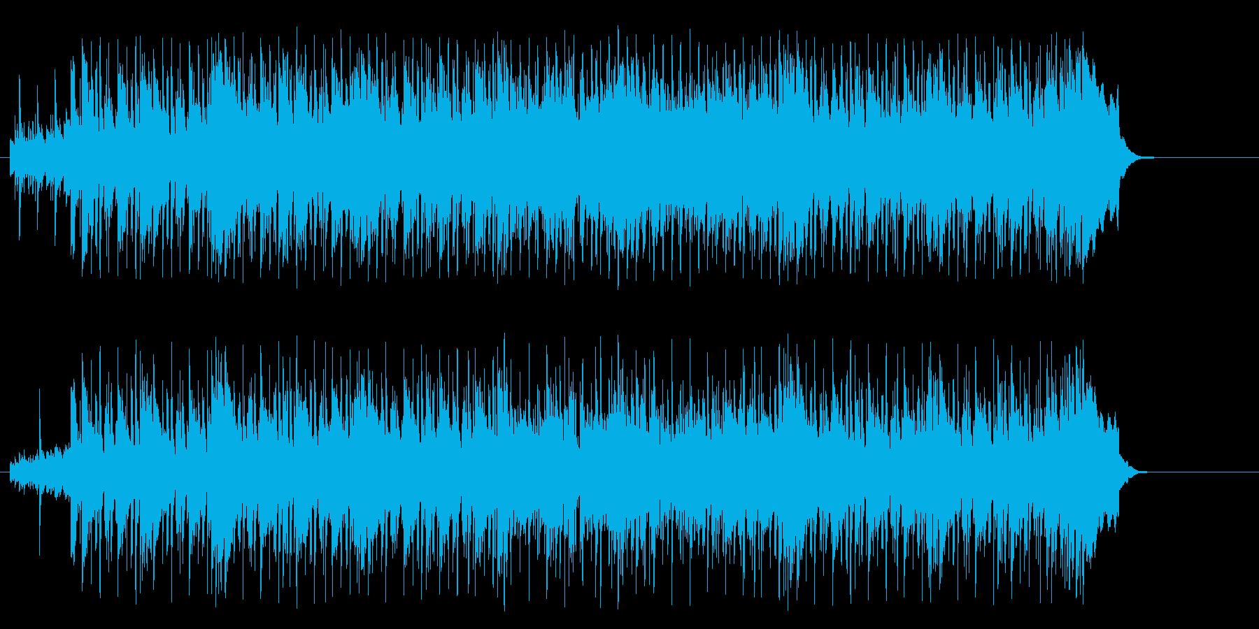 好奇心旺盛なポップ(イントロ~A~B…)の再生済みの波形