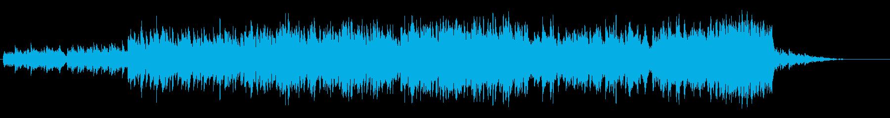 ゲームBGM_草原のような楽曲【ループ】の再生済みの波形
