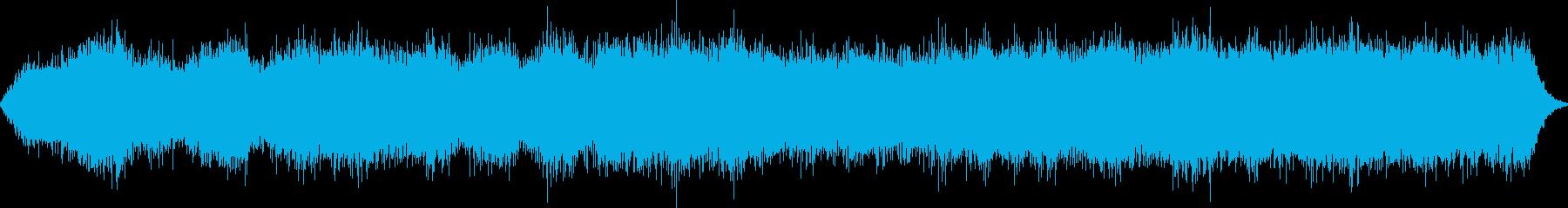 水の音のするホラーアンビエントの再生済みの波形