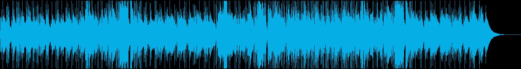 ゆったり爽やかアコースティック曲 aの再生済みの波形