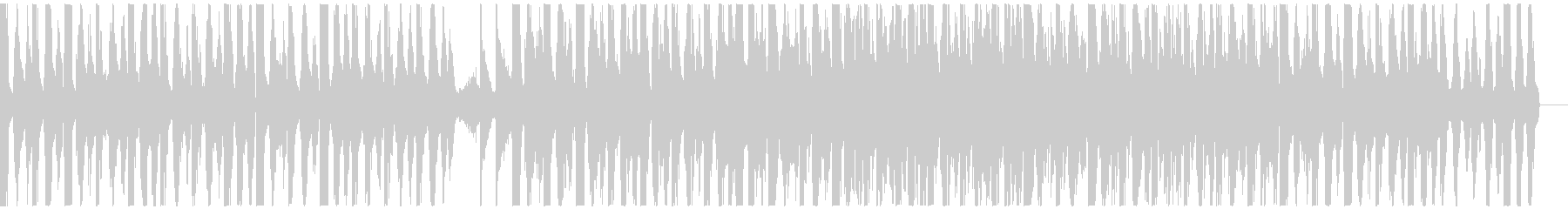 ダーク、インダストリアルなエレクトロビーの未再生の波形