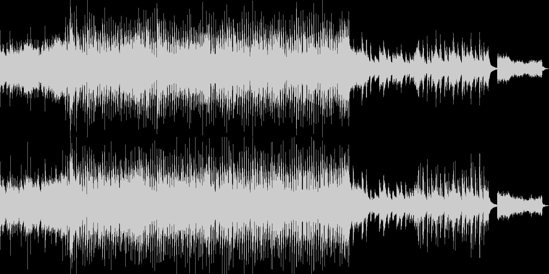 クラシックアレンジのウエディング曲の未再生の波形