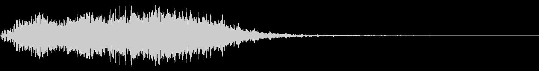 ピコピコ効果音の未再生の波形