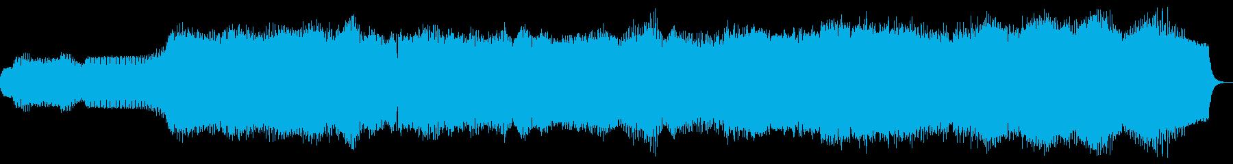 50s SF映画風電子アンビエントホラーの再生済みの波形