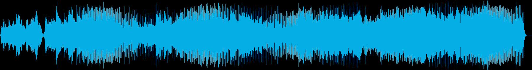 ストリングスメインのバンドサウンドですの再生済みの波形