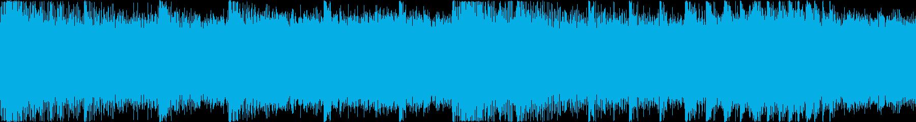 【和風ホラー】狸の腹太鼓のバッドエンドの再生済みの波形
