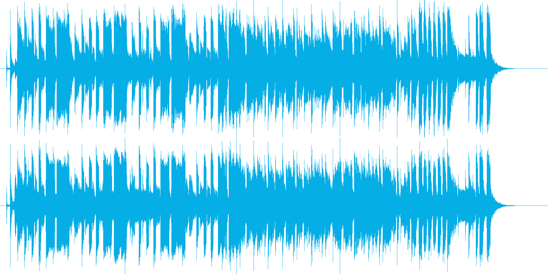 ホーンのメロディがさわやかなシンセポップの再生済みの波形