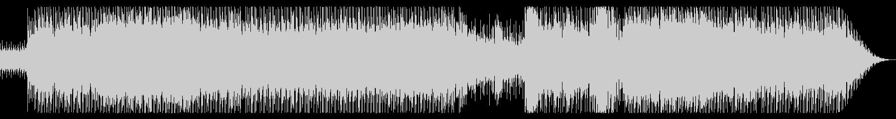 80年代洋楽ポップロック風の未再生の波形