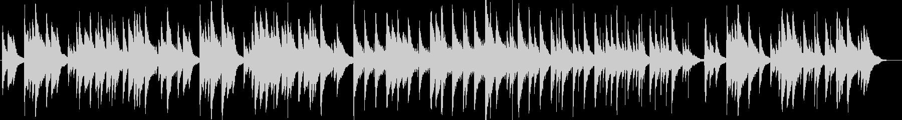 CM Vlogなどせつないピアノ系BGMの未再生の波形