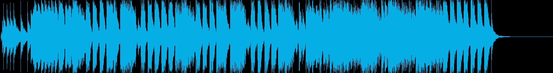 おちゃめ系 サンバ系 ジングルの再生済みの波形