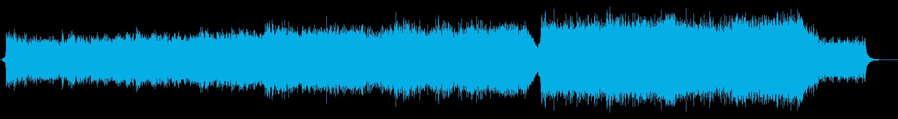eスポーツトレイラー風オーケストラの再生済みの波形