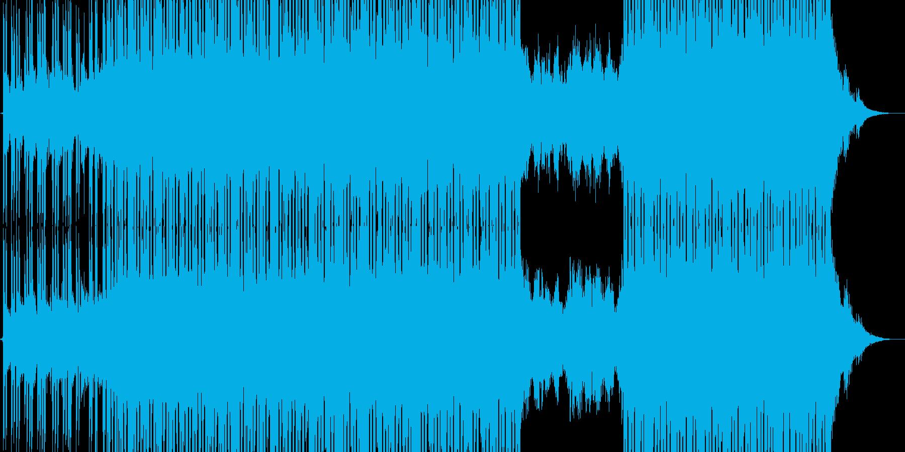 アンビエント 広い 壮大 ゆっくり...の再生済みの波形