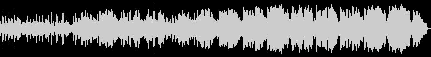ピアノとSAXがメインの優しいワルツの未再生の波形