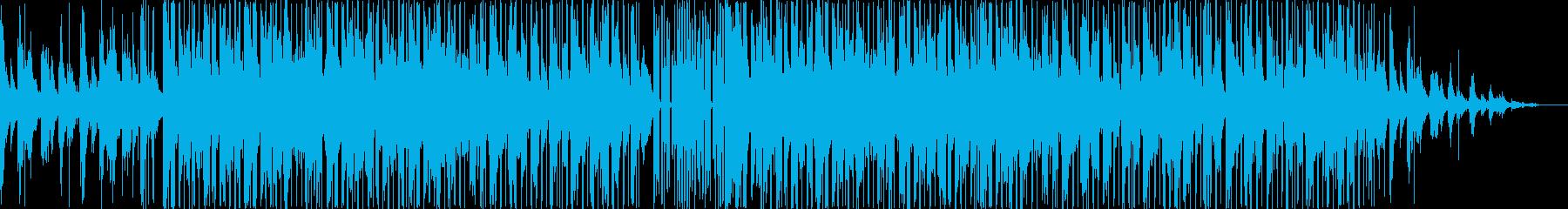 アジア民謡っぽいHiphopBeatの再生済みの波形