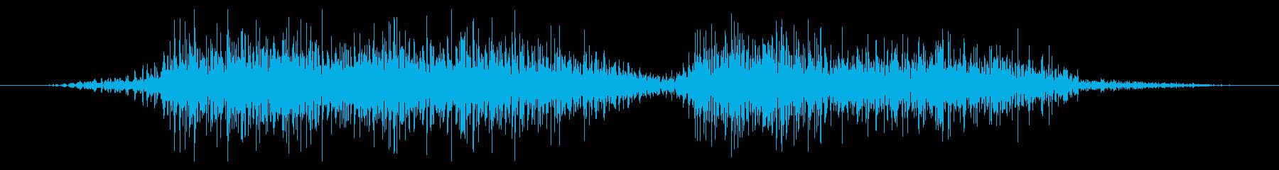 フライング ドラゴン モンスター 勝利時の再生済みの波形