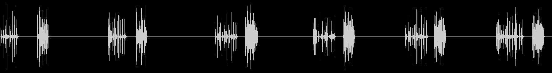 電気:数字を入力、遅い、機械を追加...の未再生の波形