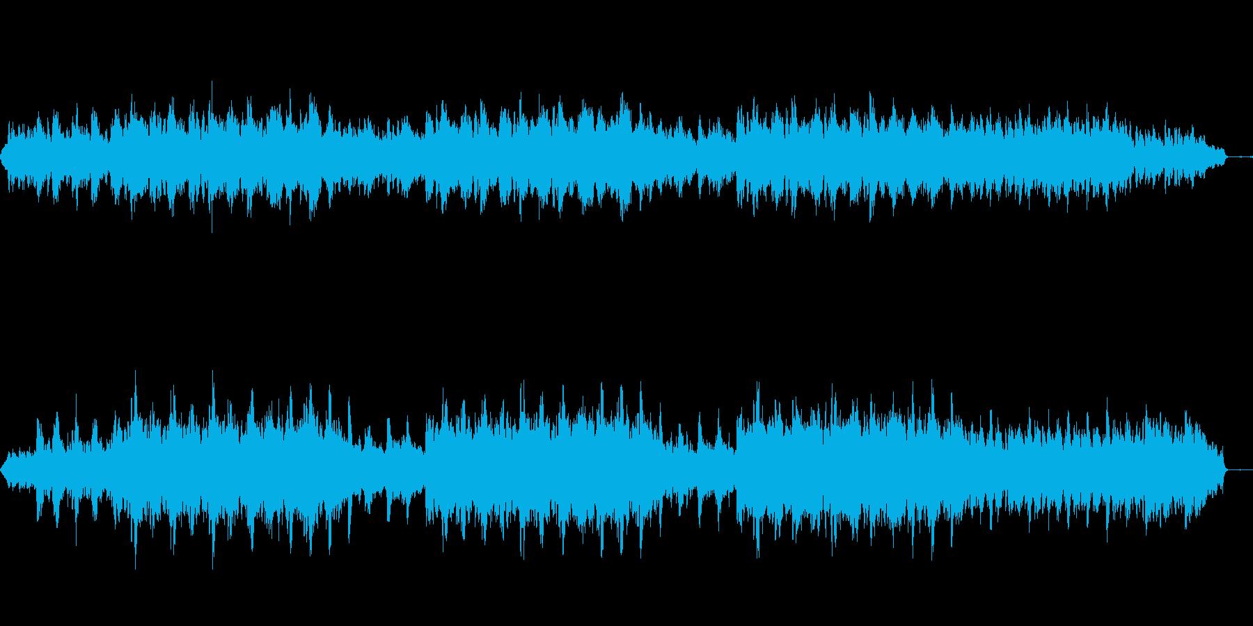 ぬくもりのあるまったりしたメロディーの再生済みの波形