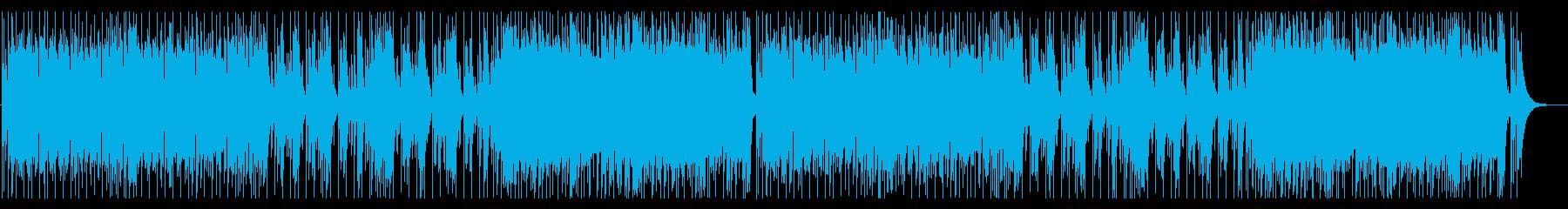 和風 ロック・疾走感の再生済みの波形