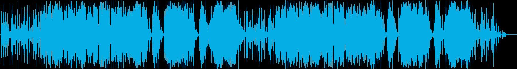情緒ある街並のループオーケストラの再生済みの波形
