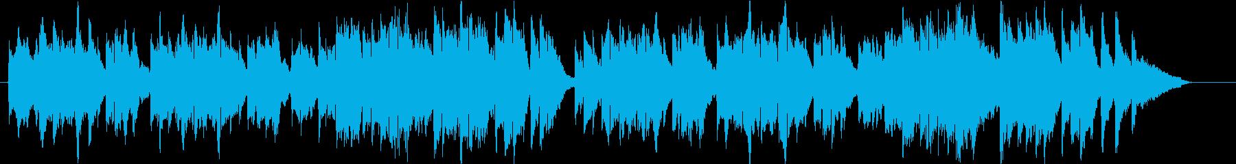 クリスマスの讃美歌をヴァイオリンでの再生済みの波形