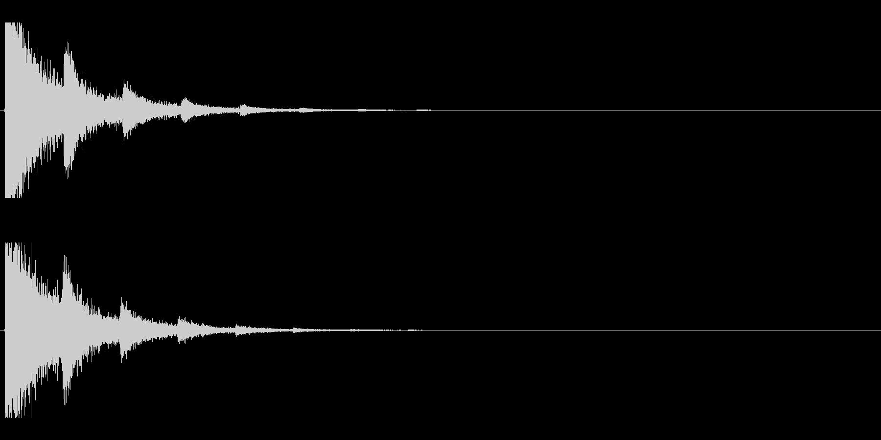 レーザー音-07-2の未再生の波形