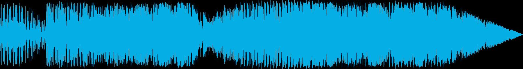 フュージョン アクション 説明的 ...の再生済みの波形