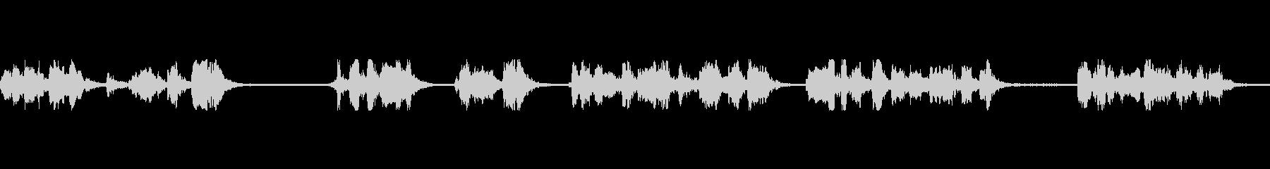 メガホントーク公開アドレスの未再生の波形