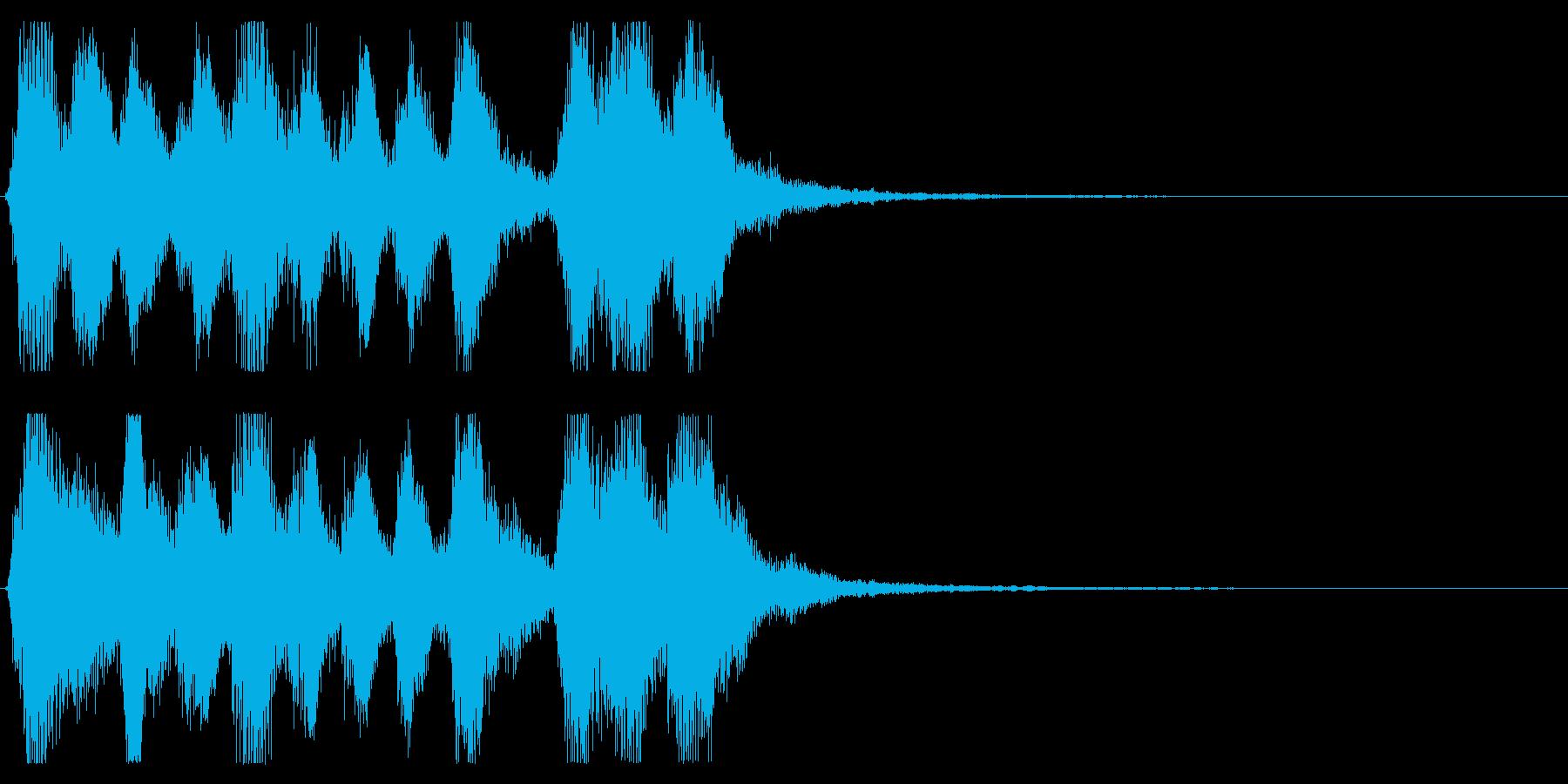 【パーティー開幕4】の再生済みの波形