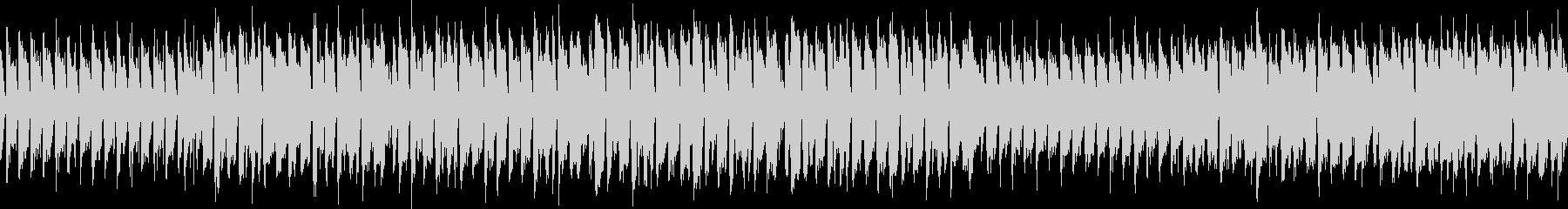 ループ 元気なアイリッシュの未再生の波形