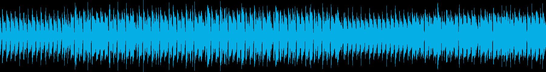 ループ 元気なアイリッシュの再生済みの波形
