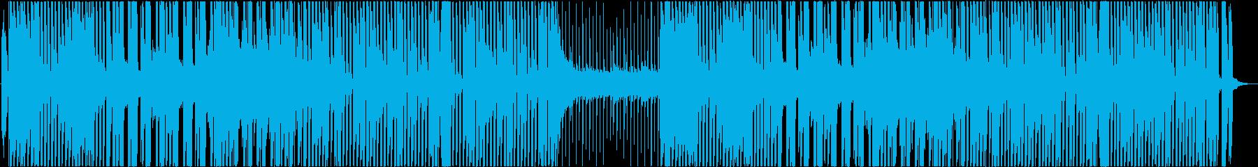 ノリのよいスムースジャズなイメージの再生済みの波形
