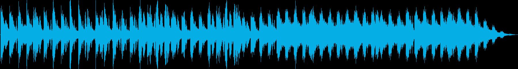 四つ打ちのシンセ系 JAZZ風な響きの再生済みの波形