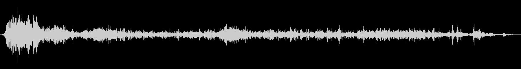 ファイアバースト、バーンアンドランブルの未再生の波形