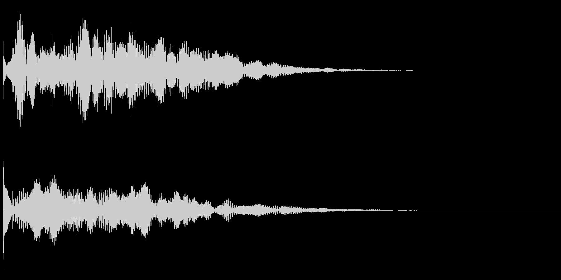 ティポリ~ンの未再生の波形