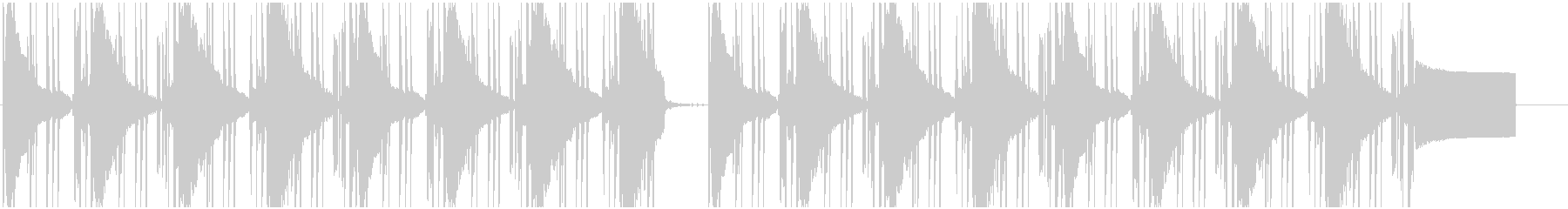 【LOFI HIPHOP】深夜集中Dの未再生の波形