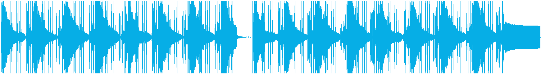 【LOFI HIPHOP】深夜集中Dの再生済みの波形