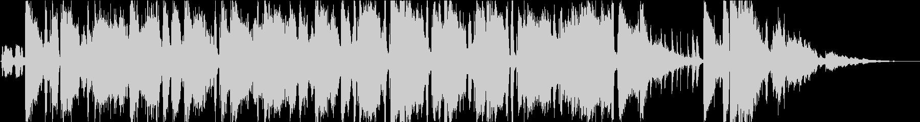 バーやラウンジを連想 ジャズフュージョンの未再生の波形